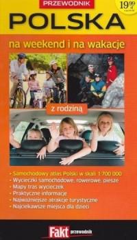 Polska na weekend i na wakacje - okładka książki