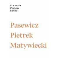 Pracownia Poetycka Silesius 2016 - okładka książki