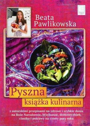 Pyszna książka kulinarna - okładka książki