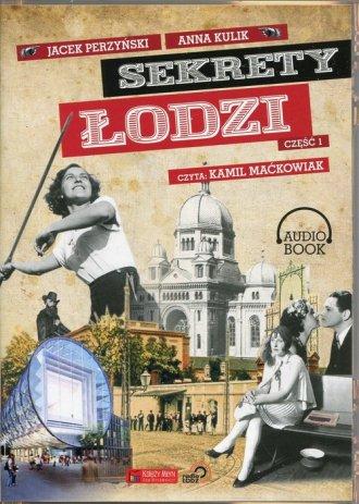 Sekrety Łodzi cz. 1 - pudełko audiobooku