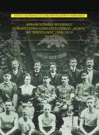 Sprawozdania Wydziału Towarzystwa - okładka książki