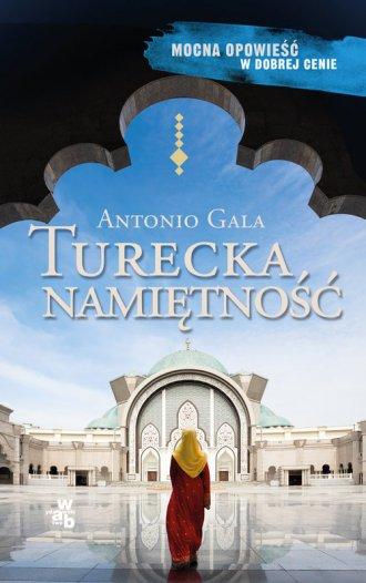 Turecka namiętność - okładka książki
