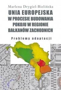 Unia Europejska w procesie budowania - okładka książki