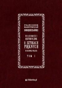 Wiadomości historyczne o sztukach pięknych - okładka książki
