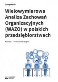 Wielowymiarowa Analiza Zachowań - okładka książki