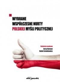 Wybrane współczesne nurty polskiej - okładka książki