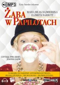 Żaba w papilotach - Elżbieta Narbutt - pudełko audiobooku