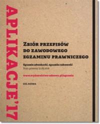 Zbiór przepisów do zawodowego egzaminu prawniczego. Egzamin adwokacki i radcowski w 4 tomach - okładka książki