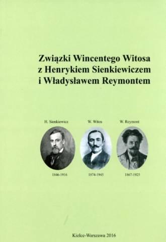 Związki Wincentego Witosa z Henrykiem - okładka książki
