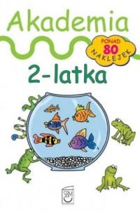 Akademia 2-latka biała - okładka książki