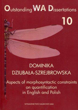 Aspects of morphosyntactic constraints - okładka książki