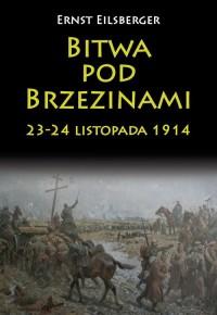 Bitwa pod Brzezinami 23-24 listopada 1914 - okładka książki