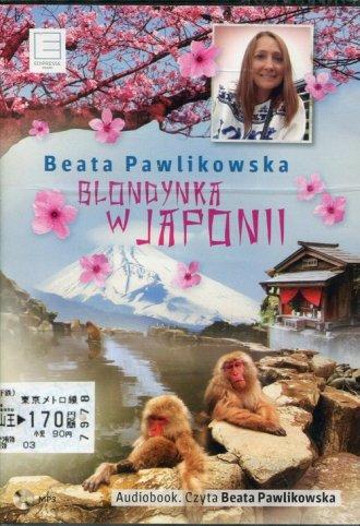 Blondynka w Japonii (CD mp3) - pudełko audiobooku