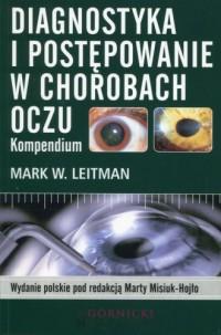 Diagnostyka i postępowanie w chorobach oczu. Kompendium - okładka książki