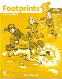 Footprints 3. Książka ucznia   CD - okładka podręcznika