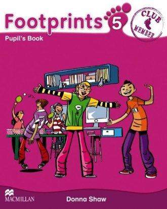 Footprints 5. Książka ucznia - okładka podręcznika