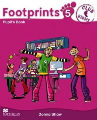 Footprints 5. Książka ucznia   CD - okładka podręcznika