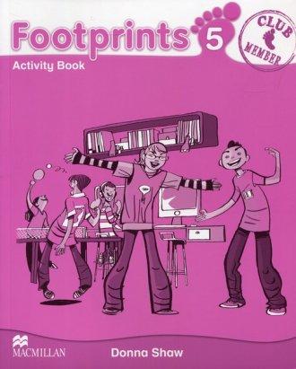 Footprints 5. Zeszyt ćwiczeń - okładka podręcznika