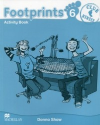 Footprints 6. Zeszyt ćwiczeń - okładka podręcznika