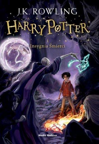 Harry Potter i Insygnia Śmierci. - okładka książki