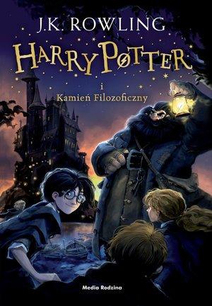 Harry Potter i Kamień Filozoficzny - okładka książki