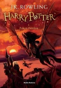Harry Potter i Zakon Feniksa  2016 - okładka książki