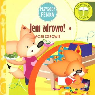 Jem zdrowo! Przygody Fenka - okładka książki