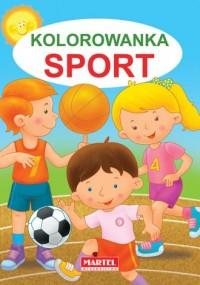 Kolorowanka Sport - Jarosław Żukowski - okładka książki