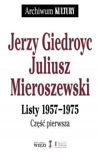 Listy 1957-1975 cz. 1-3 - okładka książki