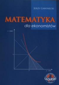 Matematyka dla ekonomistów - okładka książki