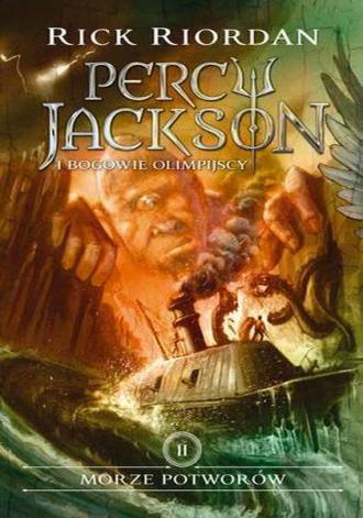 Morze potworów. Percy Jackson i - okładka książki