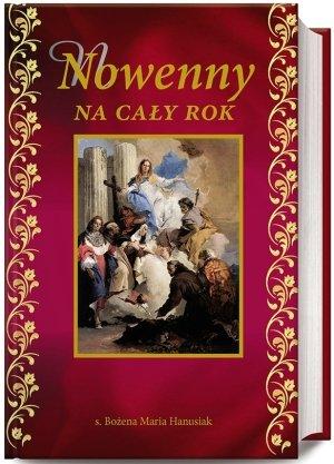 Nowenny na cały rok - okładka książki