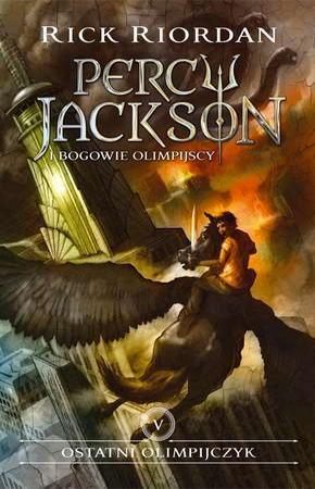 Ostatni olimpijczyk. Percy Jackson - okładka książki