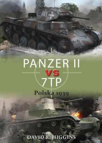 PANZER II vs 7TP Polska 1939 - okładka książki
