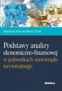 Podstawy analizy ekonomiczno-finansowej - okładka książki