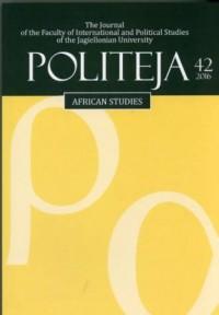 Politeja nr 42/2016. African studies - okładka książki