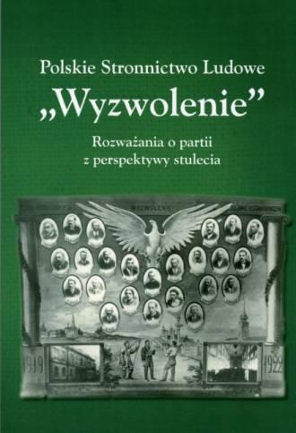 Polskie Stronnictwo Ludowe Wyzwolenie. - okładka książki