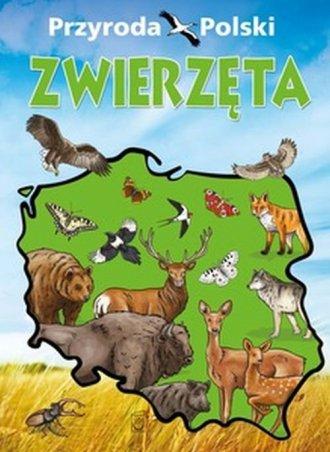 Przyroda Polski. Zwierzęta - okładka książki