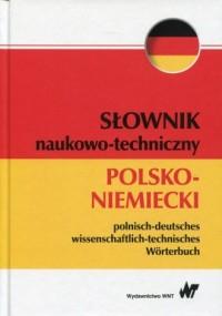 Słownik naukowo-techniczny polsko-niemiecki - okładka książki