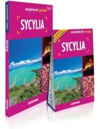 Sycylia explore! guide light - - okładka książki