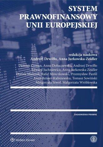 System prawnofinansowy Unii Europejskiej - okładka książki