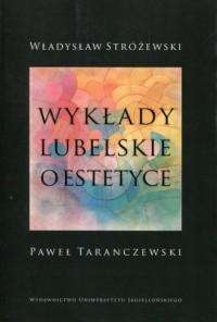 Wykłady lubelskie o estetyce - okładka książki