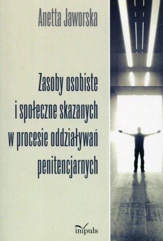 Zasoby osobiste i społeczne skazanych - okładka książki