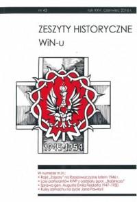 Zeszyty Historyczne WiN-u nr 43 (czerwiec 2016) - okładka książki