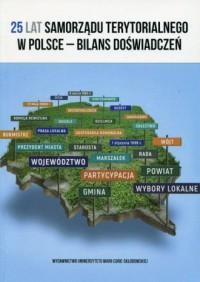 25 lat samorządu terytorialnego - okładka książki