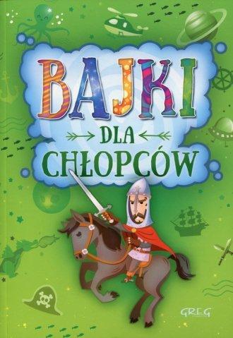 Bajki dla chłopców - okładka książki