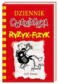 Dziennik cwaniaczka 11. Ryzyk-fizyk - okładka książki