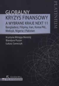 Globalny kryzys finansowy a wybrane - okładka książki