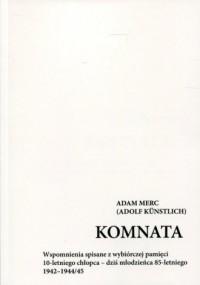 Komnata - Adam Merc - okładka książki