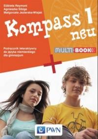 Kompass 1 neu Multibook. Gimnazjum - okładka podręcznika